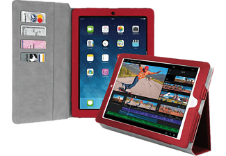 SBS MOBILE Ipad Air Book Case with stand - Röd