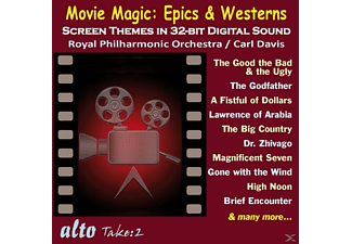 Royal Philharmonic Orchestra, Davis/Royal Philharmonic Orchestra - Magic Movie: Epics and Western - (CD)
