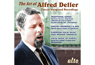 Alfred Deller - Deller The Art Of - (CD)
