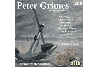 Watson, Pears, Covent Garden The Royal Opera, Pears/Watson/Royal Opera Covent Garden - Britten Peter Grimes - (CD)