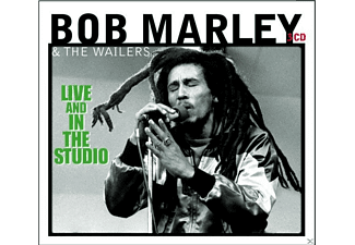 Bob Marley, The Wailers - Live & In The Studio - (CD)