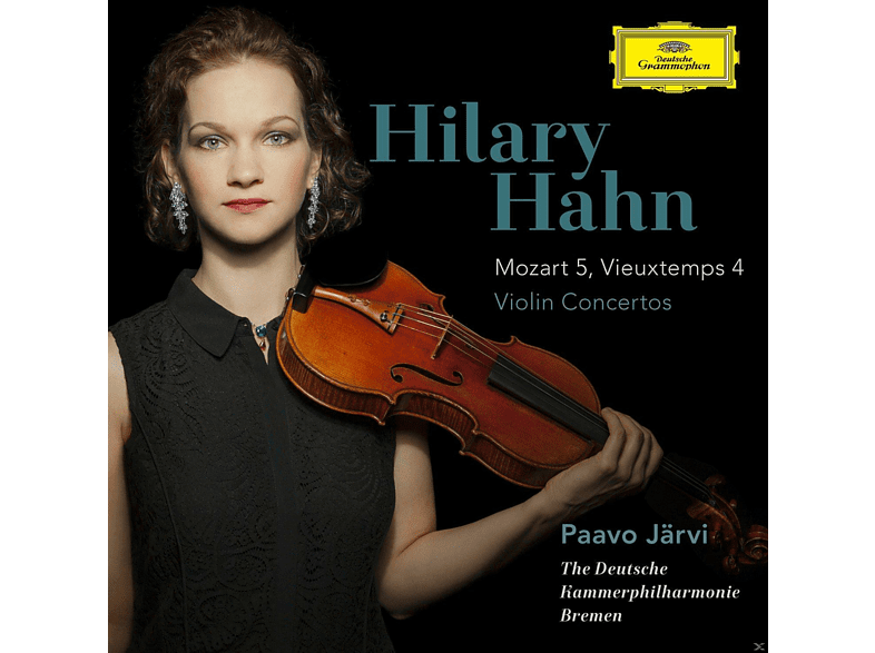 Hilary Hahn - Violinkonzerte: Mozart 5 & Vieuxtemps  4 [CD]