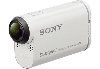 Videocámara deportiva - Sony HDR-AS200VR, Action Cam, Full HD, Wi-Fi, GPS, NFC, Blanco