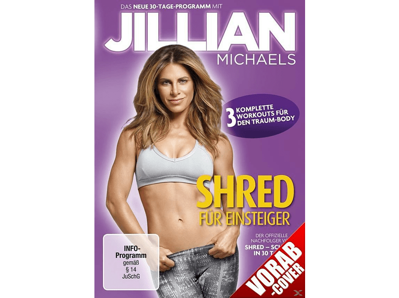 Jillian Michaels - Shred für Einsteiger [DVD]