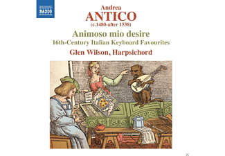 Glen Wilson - Animoso mio desire - (CD)