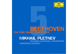 Mikhail Pletnev, Russian National Orchestra - The Five Piano Concertos - (CD)