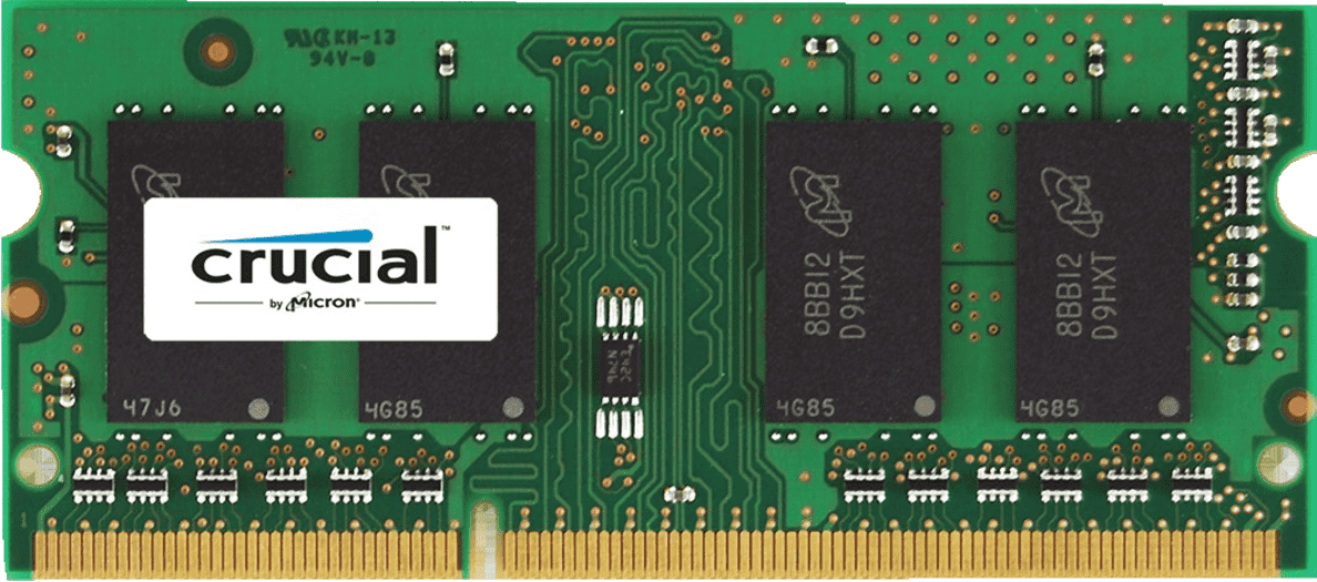CRUCIAL CT51264BF160BJ, Unbuffered, 4 GB DDR3 | 00649528762191