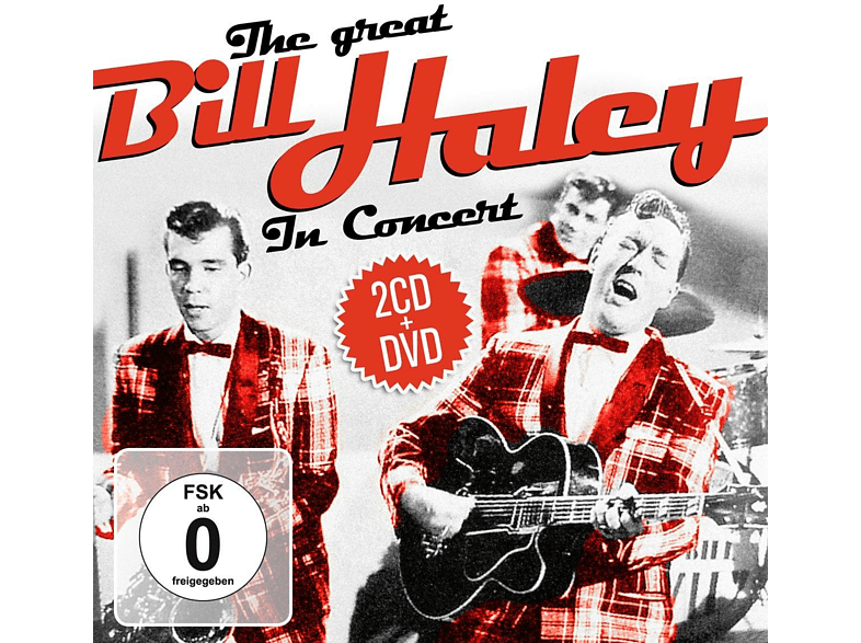 Bill Haley - The Great Bill Haley In Concert [CD + DVD Video]
