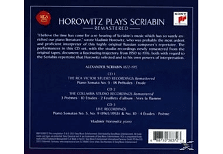 Vladimir Horowitz - Horowitz Plays Scriabin - (CD)