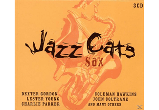 VARIOUS - Jazz Cats Sax - (CD)