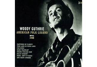 Woody Guthrie - American Folk Legend - (CD)
