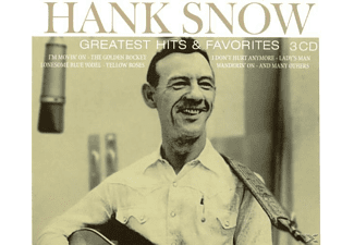 Hank Snow - Greatest Hits & Favorites - (CD)