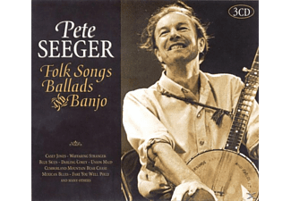 Pete Seeger - Folk Songs,Ballads & Banjo - (CD)