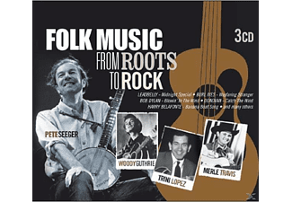 VARIOUS - Folk Music From Roots To Rock - (CD)