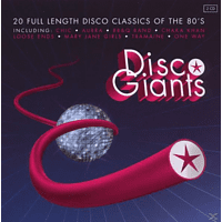 VARIOUS - Disco Giants [CD]