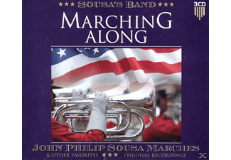Sousa' S Band - Marching Along - (CD)