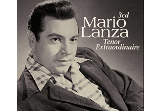 Mario Lanza - Tenor Extraordinaire - (CD)