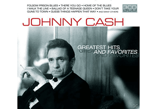 Johnny Cash - Greatest Hits & Favorites - (CD)