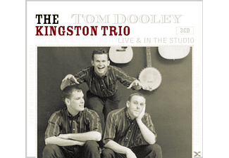 The Kingston Trio - Tom Dooley-Live & In The Studio [Box-Set] - (CD)