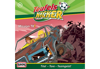 Teufelskicker - 45: Mission TK! - (CD)