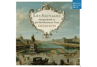 Giulia Nuti - Les Sauvages-Harpsichords In Paris - (CD)