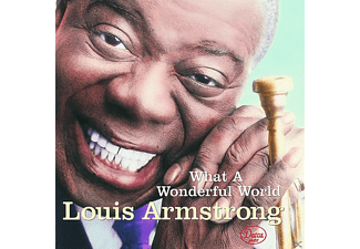 Louis Armstrong - WHAT A WONDERFUL WORLD - (CD)
