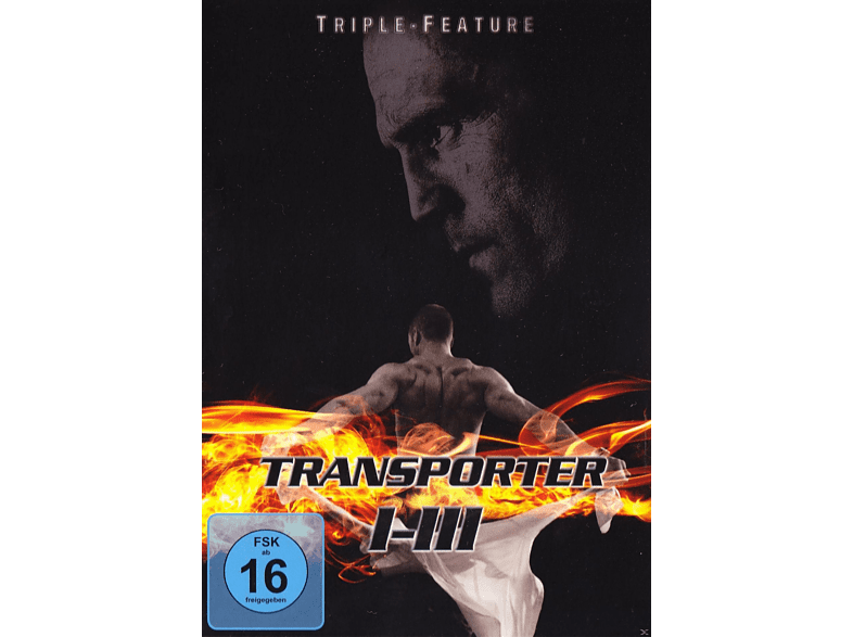 Transporter 1-3: Triple Feature [DVD]