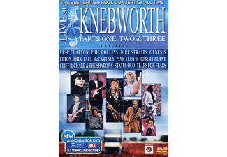 VARIOUS - Live At Knebworth 1-3 - (DVD)