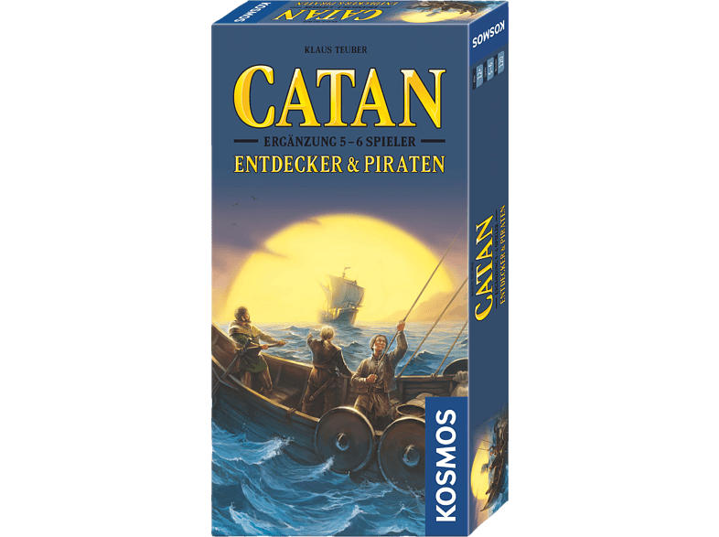 KOSMOS 694111 Catan Entdecker & Piraten