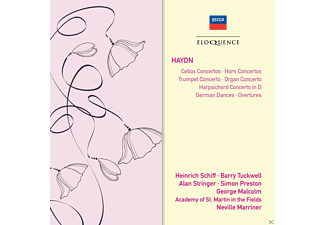Heinrich Schiff, Alan Stringer, George Malcolm, Academy of St. Martin in the Fields, Tuckwell Barry, Marriner Neville, Preston Simon - Concertos/german Dances/overtures - (CD)