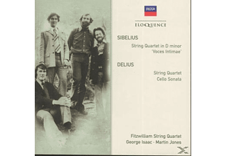 George Isaanc, Martin Jones, Fitzwilliam String Quartet - String Quartet in d minor/String Quartet/+ - (CD)