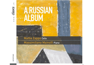 Massimiliano Mainolfi, Mattia Zappa - A Russian Album - (CD)