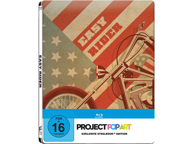 Easy Rider (Steelbook Edition / Pop Art/Exclusiv) [Blu-ray]