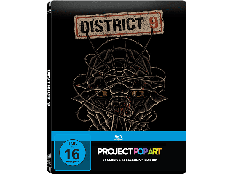 District 9 (Steelbook Edition / Pop Art/ Exclusiv) [Blu-ray]