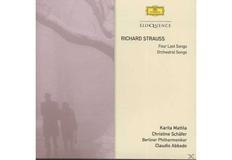 Karita Mattila, Christine Schäfer, Berliner Philharmoniker - Four Last Songs / Orchestral Songs - (CD)