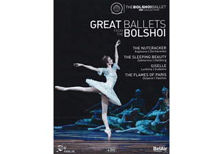 VARIOUS, The Bolshoi Theatre Orchestra - Great Ballets From The Bolshoi - (DVD)