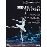 VARIOUS, The Bolshoi Theatre Orchestra - Great Ballets From The Bolshoi [DVD]