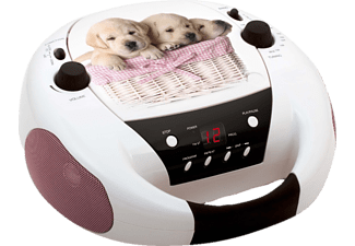 BIGBEN Radio CD portable print Dogs (CD52DOGS)
