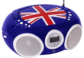 BIGBEN Draagbare radio CD Union Jack (CD32GB)
