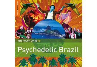 VARIOUS - Rough Guide to Psychedelic Brazil - (CD + Bonus-CD)