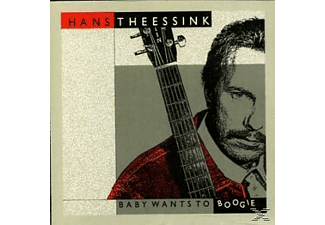 Theesink Hans - BABY WANTS TO BOOGIE - (CD)