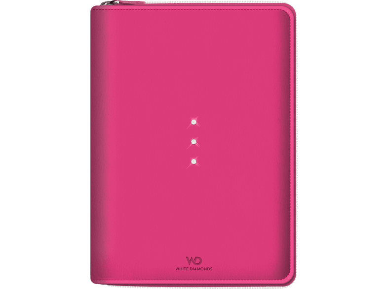 WHITE DIAMONDS Crystal Purse Tablettasche, Bookcover, 9.7 Zoll, Pink