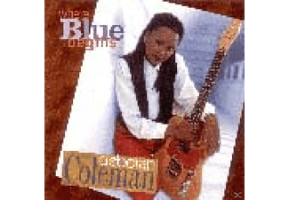 Deborah Coleman - Where Blue Begins - (CD)