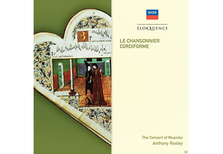 Consort Of Musicke, Anthony Rooley - Chansonnier Cordiforme - (CD)
