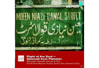 Bahauddin Qutbuddin & Party Qawwal - Flight Of The Soul-Qawwali From Pakistan - (CD)