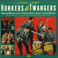 VARIOUS - Long-Lost Honkers & Twangers [CD]