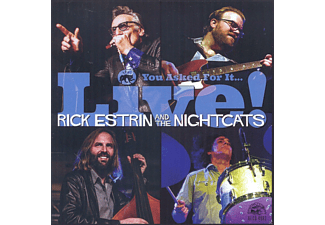 Rick Estrin, The Nightcats - You Asked For It... Live! - (CD)