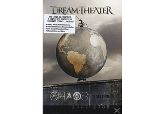 Dream Theater - CHAOS IN MOTION 2007/2008 - (DVD)
