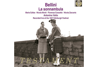 Maria Callas - La Sonnambula (Edinburgh 1957) - (CD)