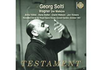 Georg Solti, Chorus & Orchestra of the Royal Opera House, Anita Välkki, Hans Hotter, Claire Watson, Convent Garden, Vickers Jon - Die Walküre (1961) - (CD)